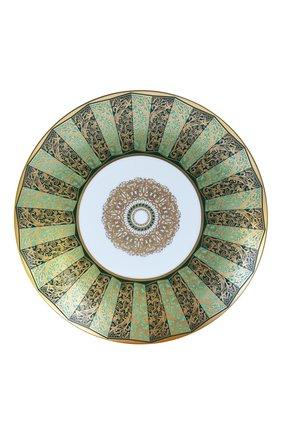 Мужского салатная тарелка eventail vert BERNARDAUD зеленого цвета, арт. 1848/21260   Фото 1