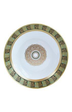 Мужская пиала суповая eventail vert  BERNARDAUD зеленого цвета, арт. 1848/21264   Фото 1