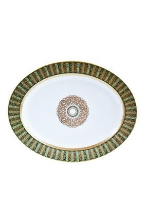 Мужского блюдо eventail vert BERNARDAUD зеленого цвета, арт. 1848/107   Фото 1