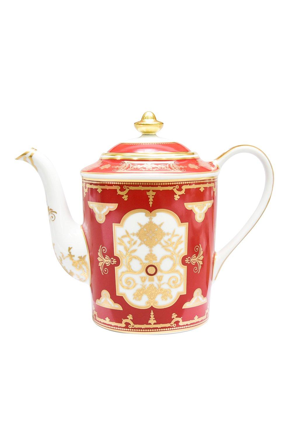 Мужского кофейник aux rois rouge BERNARDAUD красного цвета, арт. G653/34 | Фото 1
