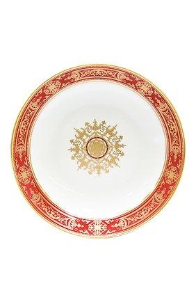 Мужского суповая пиала aux rois rouge BERNARDAUD красного цвета, арт. G653/26 | Фото 1