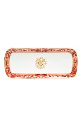 Мужского блюдо для торта aux rois rouge BERNARDAUD красного цвета, арт. G653/95   Фото 1