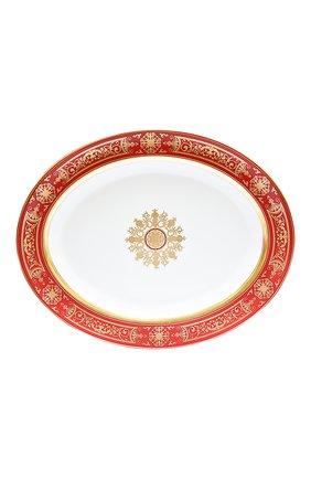 Блюдо aux rois rouge BERNARDAUD красного цвета, арт. G653/109 | Фото 1