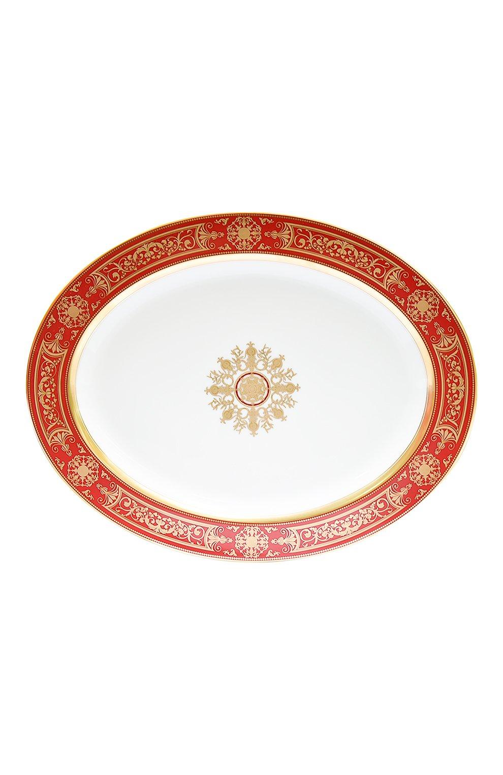 Мужского блюдо aux rois rouge  BERNARDAUD красного цвета, арт. G653/107   Фото 1
