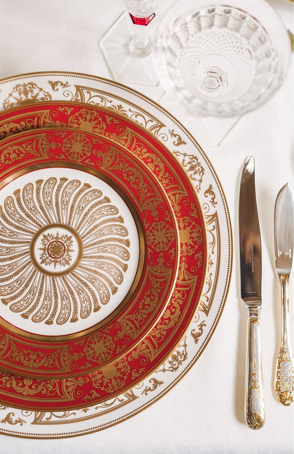 Мужского блюдо aux rois rouge  BERNARDAUD красного цвета, арт. G653/107   Фото 2
