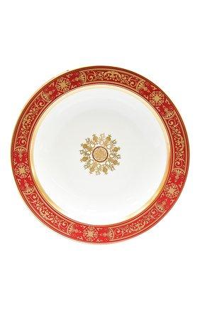 Мужского глубокое блюдо aux rois rouge BERNARDAUD красного цвета, арт. G653/115   Фото 1