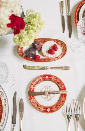 Мужского блюдо для солений aux rois rouge  BERNARDAUD красного цвета, арт. G653/125 | Фото 2