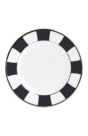 Мужского тарелка для хлеба и масла galerie royal bleu nuit  BERNARDAUD темно-синего цвета, арт. 1856/3 | Фото 1
