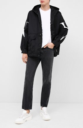 Мужские кожаные кроссовки valentino garavani gumboy VALENTINO белого цвета, арт. UY2S0B17/VRN | Фото 2