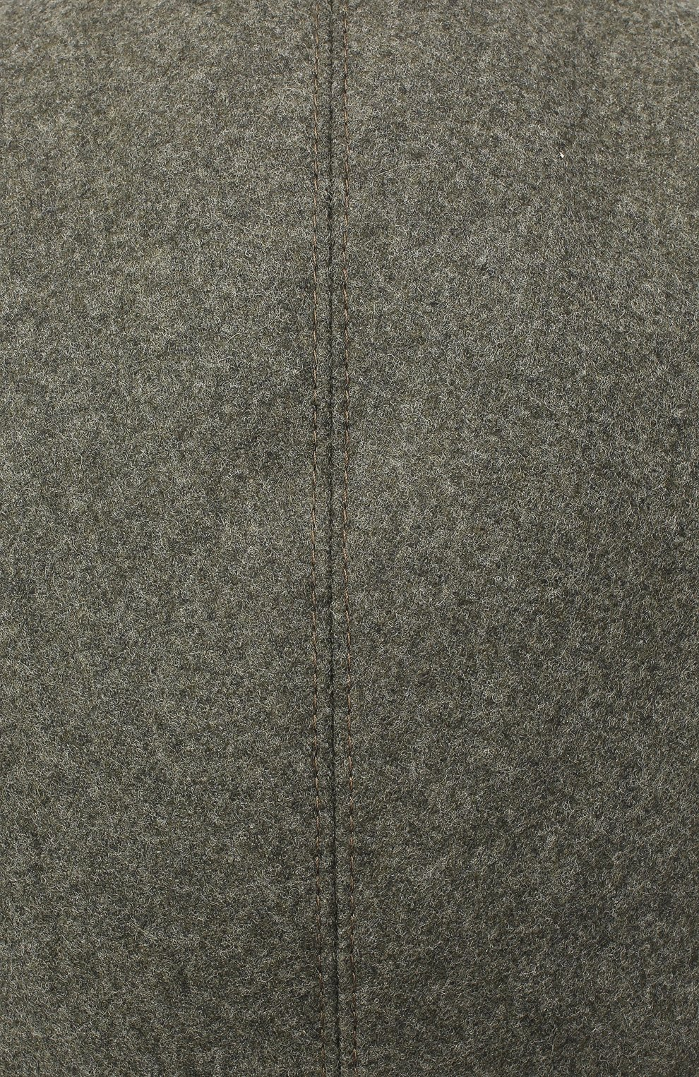 Мужская шерстяное кепи BRUNELLO CUCINELLI хаки цвета, арт. M038P9958 | Фото 3