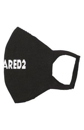 Мужская хлопковая маска для лица DSQUARED2 черно-белого цвета, арт. MAM0004 59203910 | Фото 1