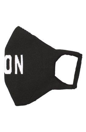 Мужская хлопковая маска для лица DSQUARED2 черно-белого цвета, арт. MAM0004 59203911 | Фото 1