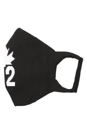 Мужская хлопковая маска для лица DSQUARED2 черно-белого цвета, арт. MAM0004 59203912 | Фото 1