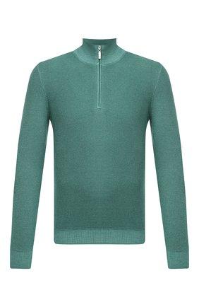 Мужской шерстяной джемпер GRAN SASSO зеленого цвета, арт. 57164/22748   Фото 1