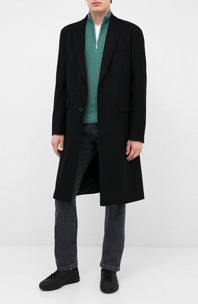 Мужской шерстяной джемпер GRAN SASSO зеленого цвета, арт. 57164/22748   Фото 2