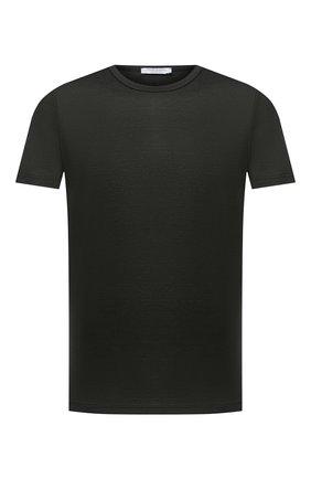 Мужская хлопковая футболка GRAN SASSO темно-зеленого цвета, арт. 60155/74000 | Фото 1