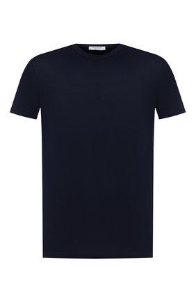Мужская хлопковая футболка GRAN SASSO синего цвета, арт. 60155/74000 | Фото 1