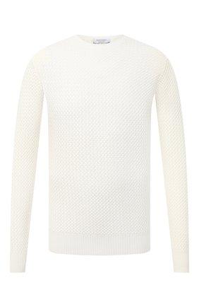 Мужской шерстяной свитер GRAN SASSO белого цвета, арт. 57135/14280 | Фото 1