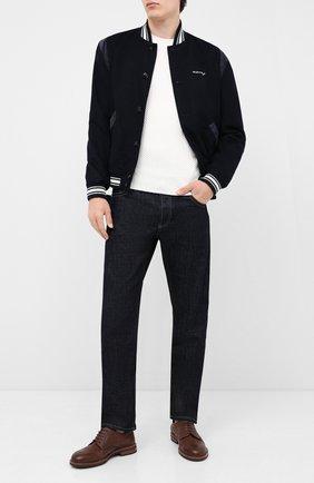 Мужской шерстяной свитер GRAN SASSO белого цвета, арт. 57135/14280 | Фото 2