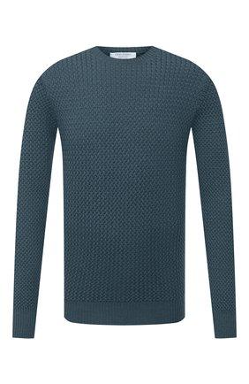 Мужской шерстяной свитер GRAN SASSO бирюзового цвета, арт. 57135/14280 | Фото 1