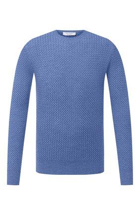 Мужской шерстяной свитер GRAN SASSO голубого цвета, арт. 57135/14280 | Фото 1