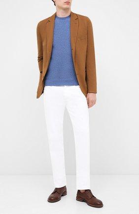 Мужской шерстяной свитер GRAN SASSO голубого цвета, арт. 57135/14280 | Фото 2