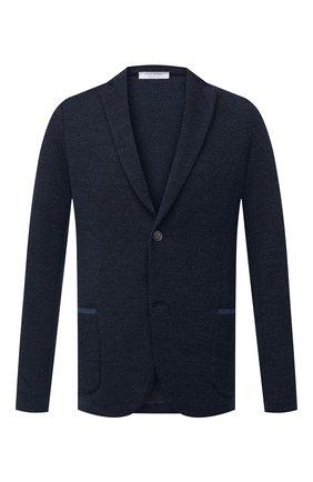 Мужской шерстяной пиджак GRAN SASSO синего цвета, арт. 57124/14229 | Фото 1