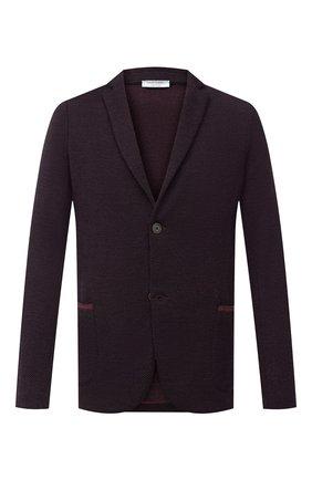 Мужской шерстяной пиджак GRAN SASSO бордового цвета, арт. 57124/14229 | Фото 1