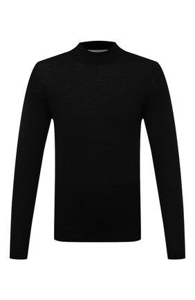 Мужской шерстяная водолазка GRAN SASSO черного цвета, арт. 45154/14790 | Фото 1
