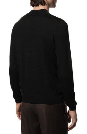 Мужской шерстяная водолазка GRAN SASSO черного цвета, арт. 45154/14790   Фото 4 (Материал внешний: Шерсть; Рукава: Длинные; Принт: Без принта; Длина (для топов): Стандартные; Мужское Кросс-КТ: Водолазка-одежда)