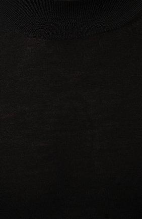 Мужской шерстяная водолазка GRAN SASSO черного цвета, арт. 45154/14790   Фото 5 (Материал внешний: Шерсть; Рукава: Длинные; Принт: Без принта; Длина (для топов): Стандартные; Мужское Кросс-КТ: Водолазка-одежда)
