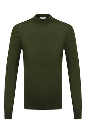 Мужской шерстяная водолазка GRAN SASSO зеленого цвета, арт. 45154/14790 | Фото 1