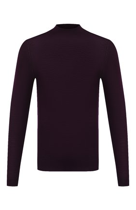 Мужской шерстяная водолазка GRAN SASSO фиолетового цвета, арт. 45154/14790 | Фото 1