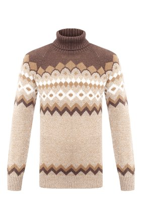 Мужской шерстяной свитер GRAN SASSO бежевого цвета, арт. 13121/22613 | Фото 1
