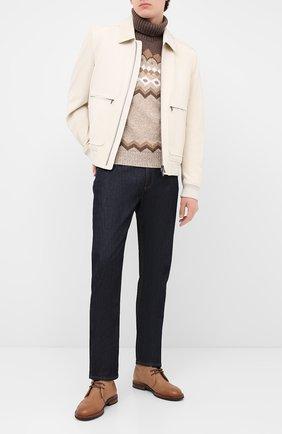 Мужской шерстяной свитер GRAN SASSO бежевого цвета, арт. 13121/22613 | Фото 2