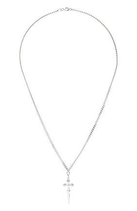 Женская кулон chrome LEVASHOVAELAGINA серебряного цвета, арт. chrome/n | Фото 1
