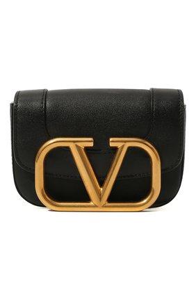 Женская поясная сумка supervee VALENTINO черного цвета, арт. UW2T0U41/ZXL | Фото 1