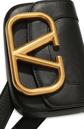 Женская поясная сумка supervee VALENTINO черного цвета, арт. UW2T0U41/ZXL | Фото 2