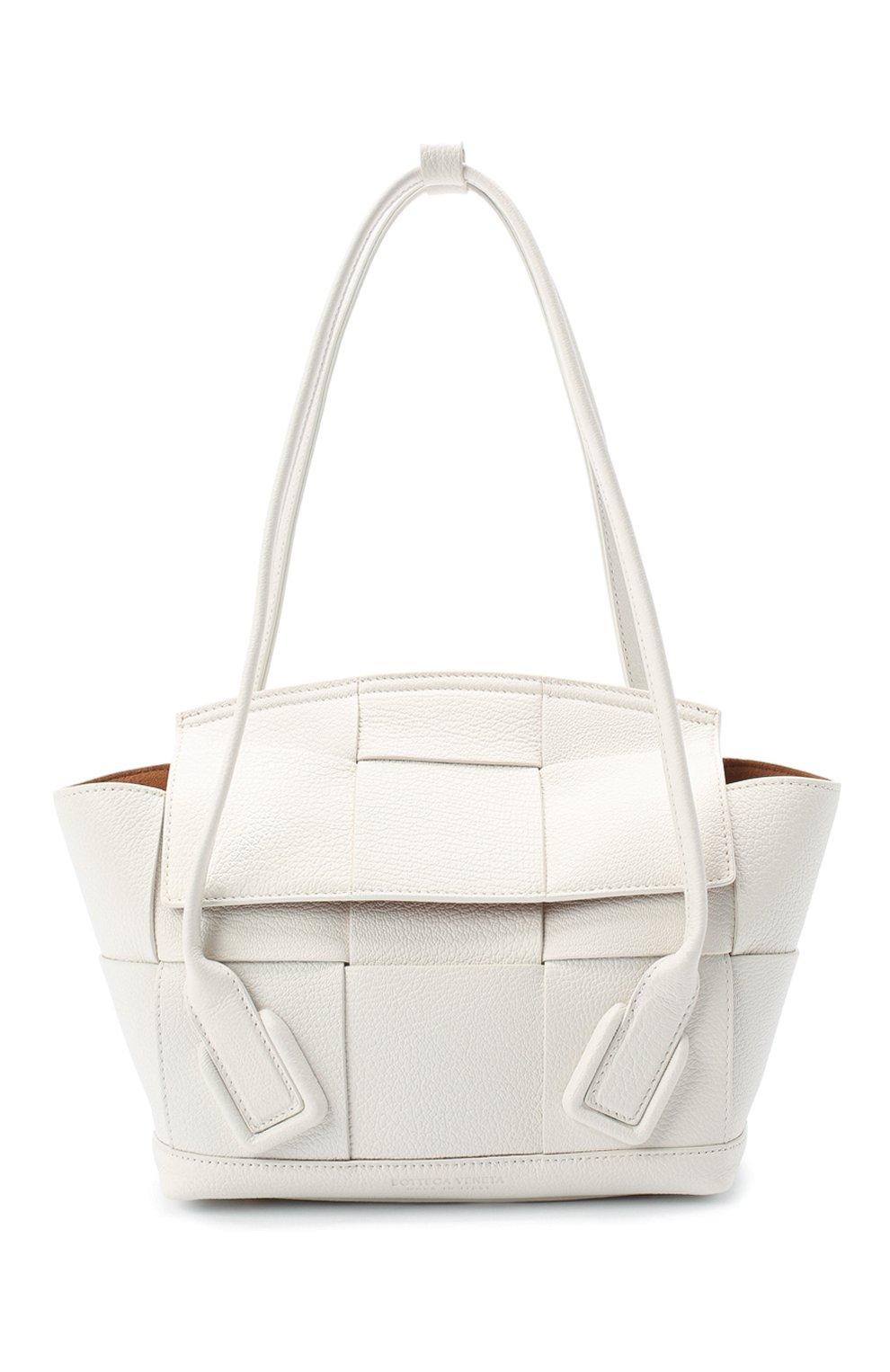 Женская сумка arco 33 BOTTEGA VENETA белого цвета, арт. 575943/VA981   Фото 1