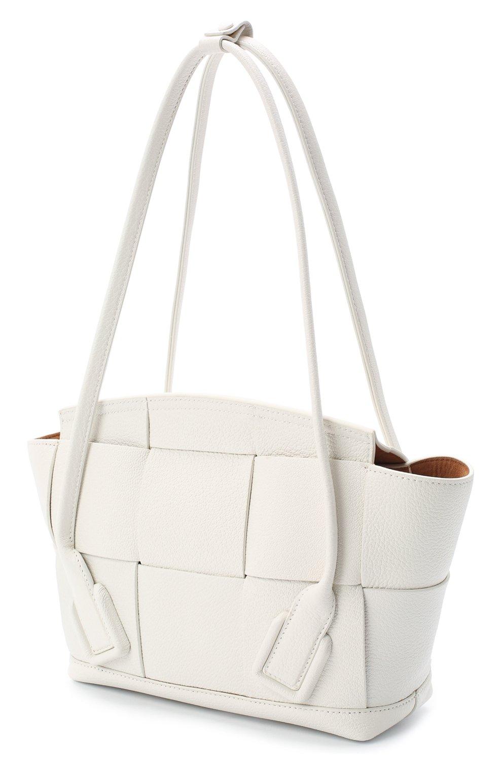 Женская сумка arco 33 BOTTEGA VENETA белого цвета, арт. 575943/VA981   Фото 3