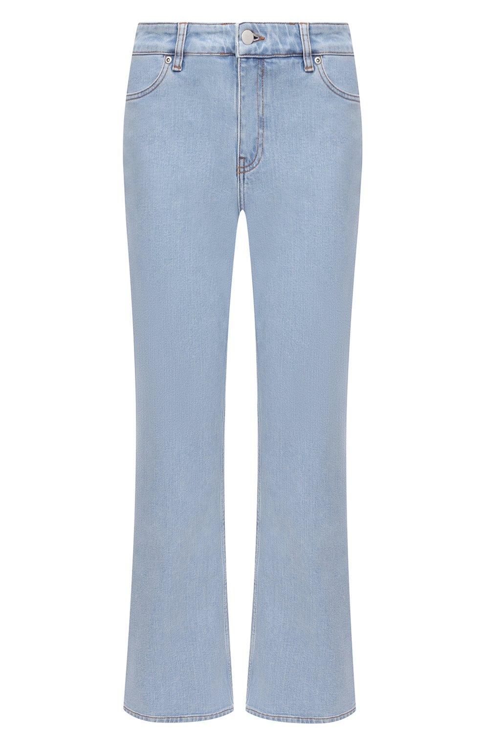 Женские джинсы BY MALENE BIRGER голубого цвета, арт. Q68662004/FI0NAS | Фото 1