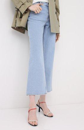 Женские джинсы BY MALENE BIRGER голубого цвета, арт. Q68662004/FI0NAS | Фото 3