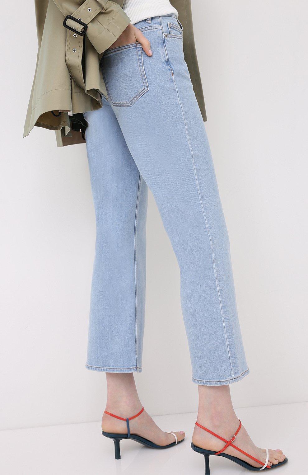 Женские джинсы BY MALENE BIRGER голубого цвета, арт. Q68662004/FI0NAS | Фото 4