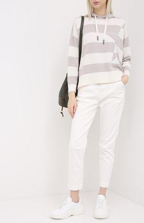Женские джинсы LORENA ANTONIAZZI белого цвета, арт. A2045PA021/3197 | Фото 2