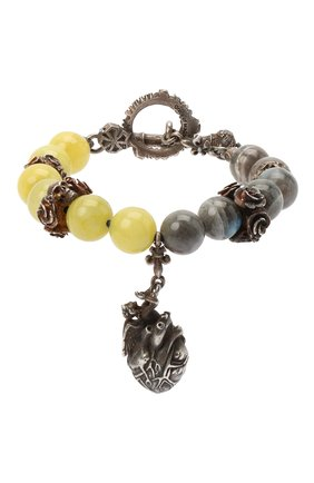 Женский браслет GL JEWELRY серебряного цвета, арт. PB072 | Фото 1
