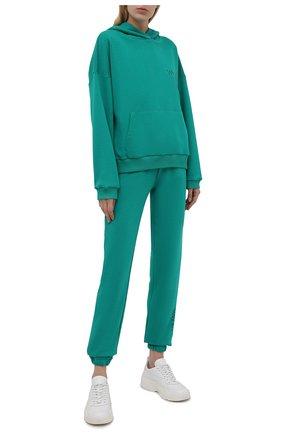 Женский спортивный костюм SEVEN LAB зеленого цвета, арт. HP20-WN green | Фото 1