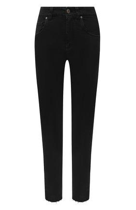 Женские джинсы BRUNELLO CUCINELLI черного цвета, арт. M0H43P5524 | Фото 1