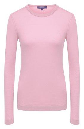 Женская кашемировый пуловер RALPH LAUREN розового цвета, арт. 290615194 | Фото 1