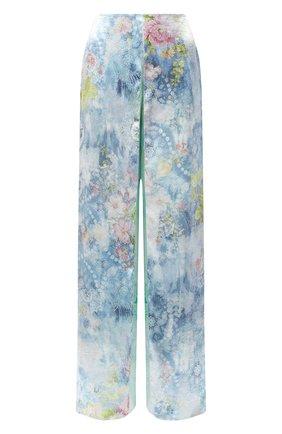 Женские брюки RALPH LAUREN голубого цвета, арт. 290798136 | Фото 1