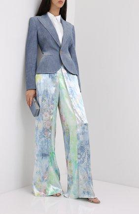 Женские брюки RALPH LAUREN голубого цвета, арт. 290798136 | Фото 2